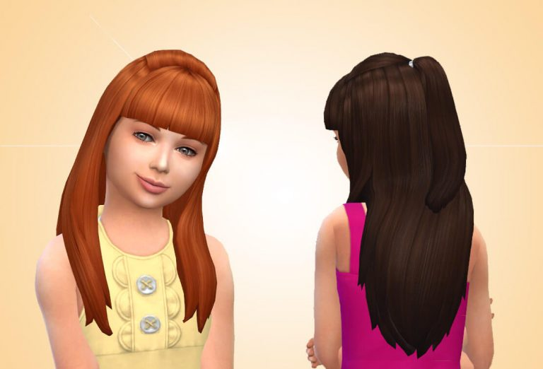 Maggie Hairstyle for Girls 💕