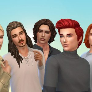 Male Hair Pack 9