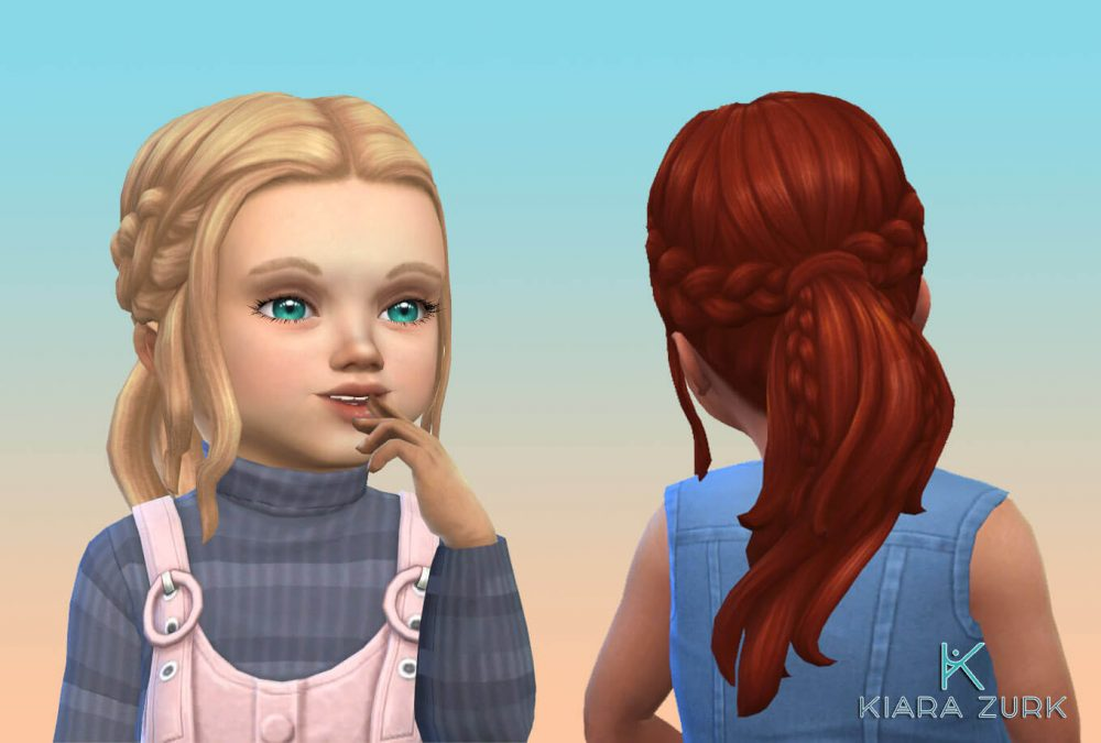 EP09 Double Braid for Toddlers