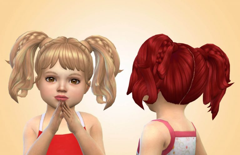 Cintia Pigtails for Toddlers