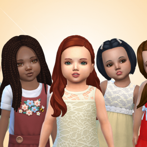 Toddlers Hair Pack 37