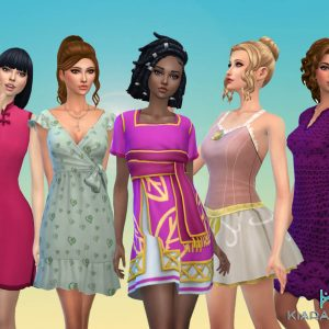 Female Dresses Pack 7