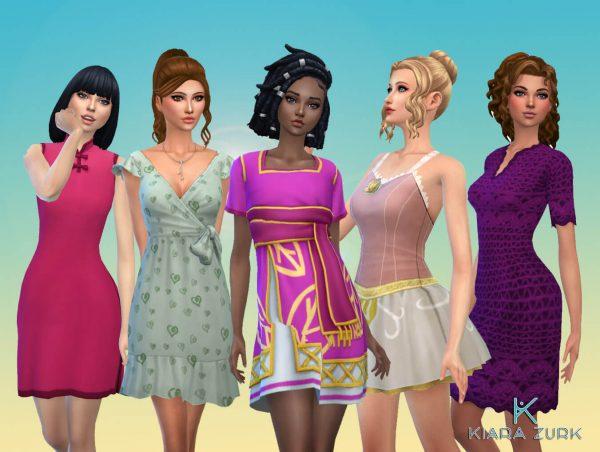 Female Dresses Pack 7