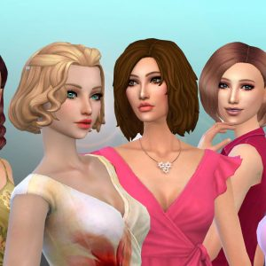 Female Medium Hair Pack 18