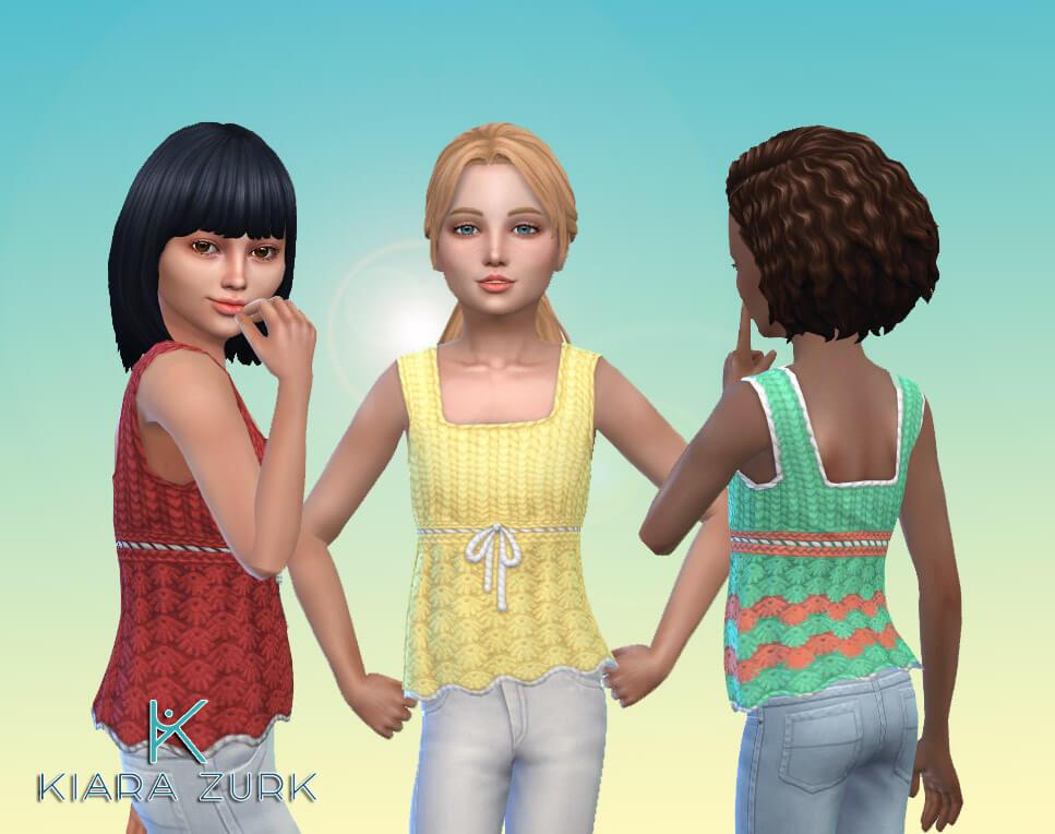 Tank Crochet for Girls