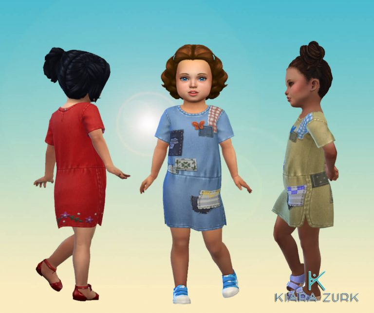 Dress Patched for Toddlers