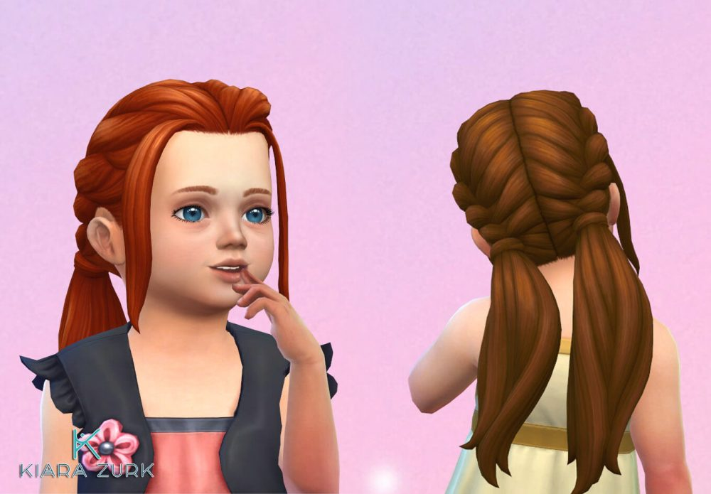 EP09 Twisted Ponytails for Toddlers
