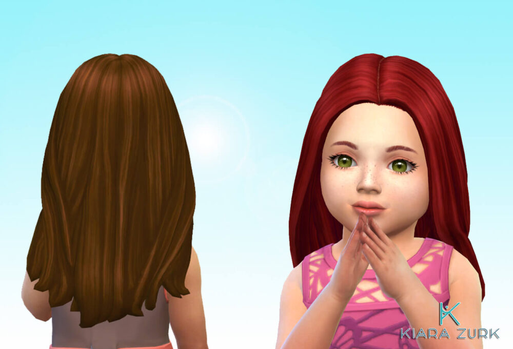 Denise Hairstyle for Toddlers
