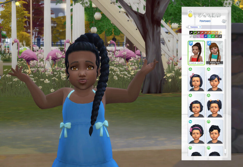 Lili Braid for Toddlers