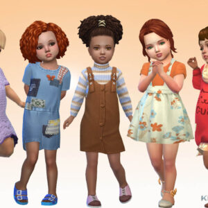Toddlers Clothes Pack 4