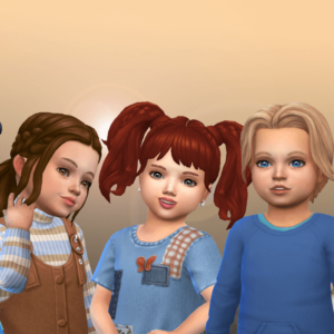 Toddlers Hair Pack 38