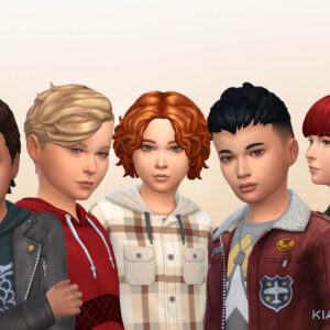 Boys Hair Pack 12