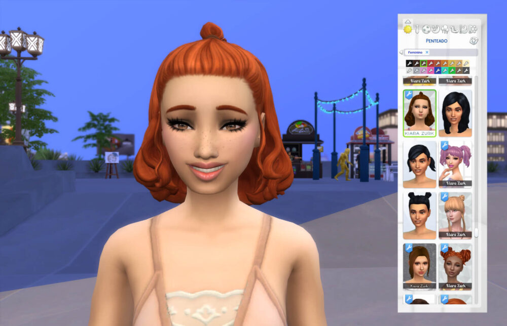Agnes Hairstyle