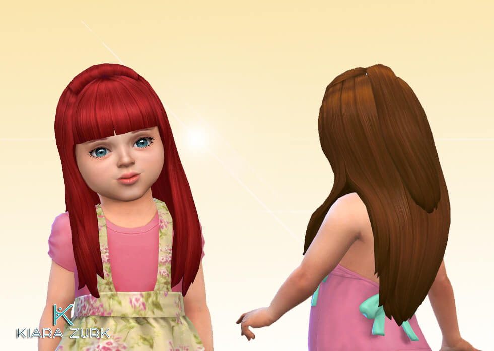 Maggie Hairstyle for Toddlers