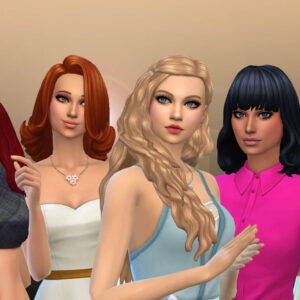 Female Long Hair Pack 30