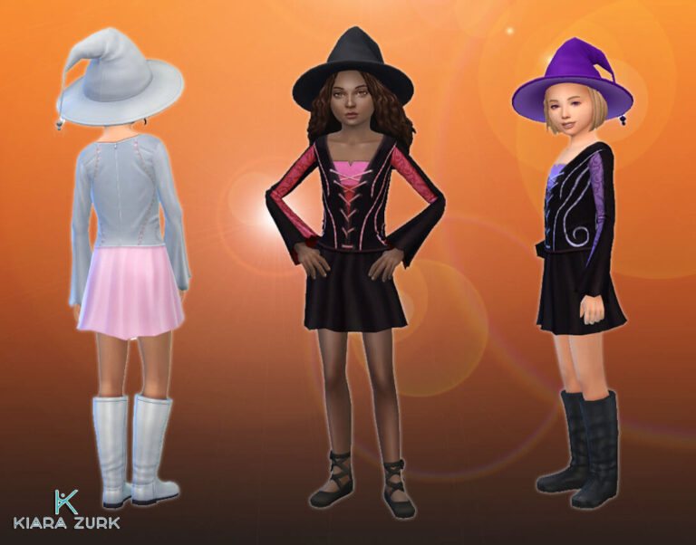 Witch Dress for Girls
