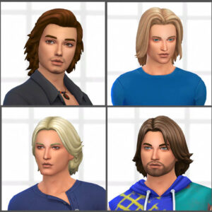 Male Medium Hair Pack