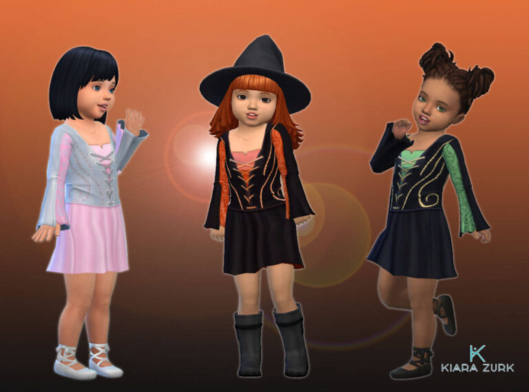 Witch Dress for Toddlers 💕