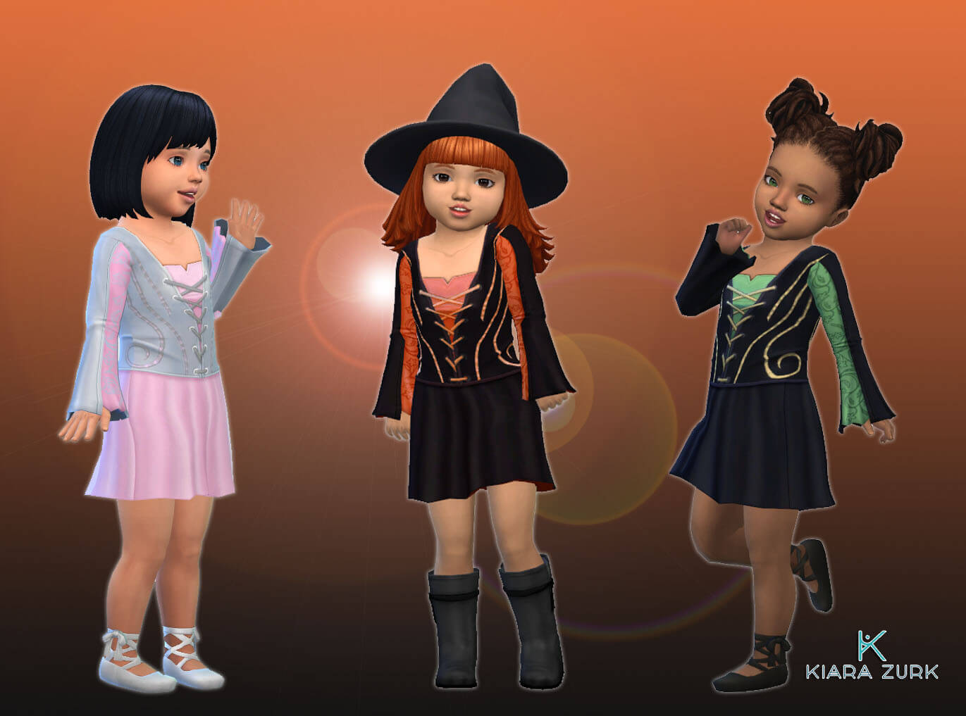 Witch Dress for Toddlers