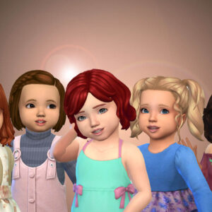 Toddlers Hair Pack 40