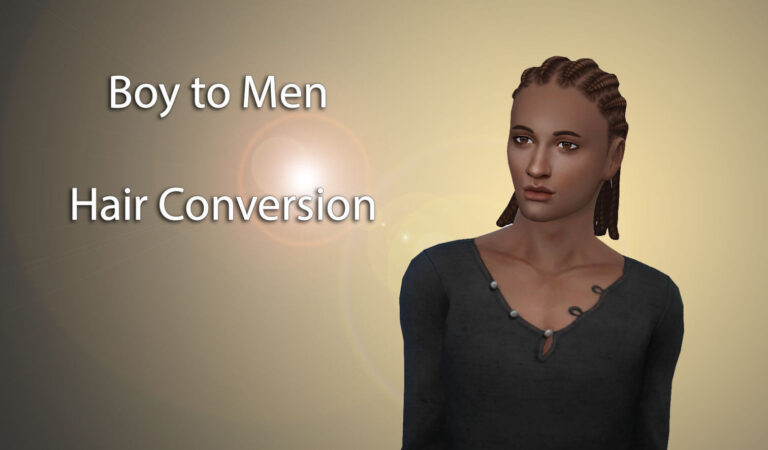 Boy to Men Hair Conversion – Speed Meshing