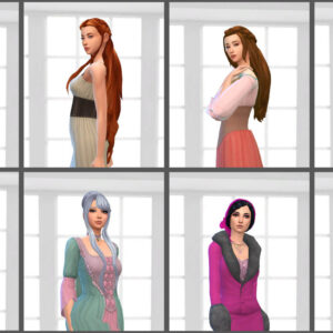 Female Historical Hair Pack