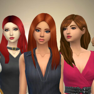Female Long Hair Pack 31