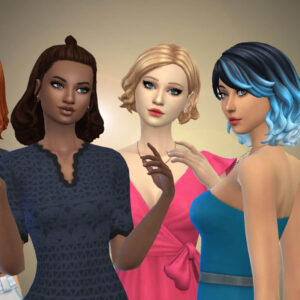Female Medium Hair Pack 20