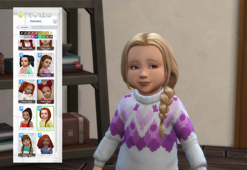 Maddie Hairstyle for Toddlers