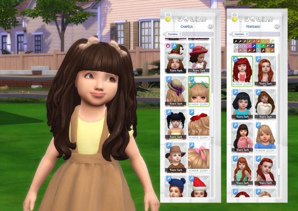 Dreamy Hairstyle for Toddlers