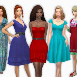 Female Dresses Pack 8