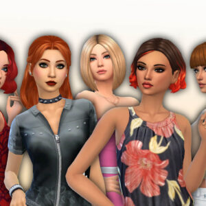 Female Medium Hair Pack 21