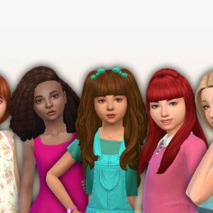 Girls Long Hair Pack 26