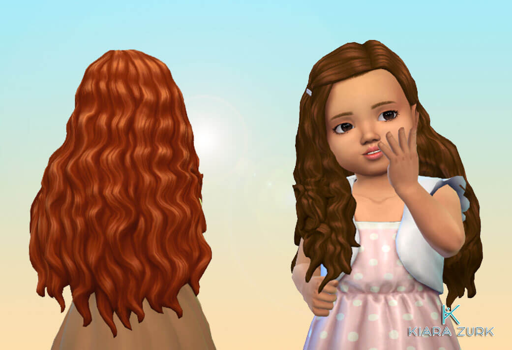Sheila Hairstyle for Toddlers