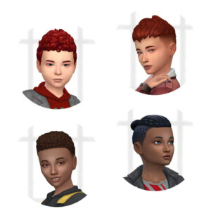 Boys Short Hair Pack