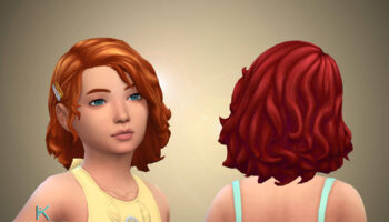 Peggy Hairstyle for Girls + Clips 💕