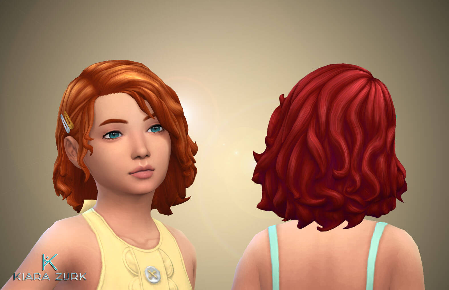 Peggy Hairstyle. for Girls