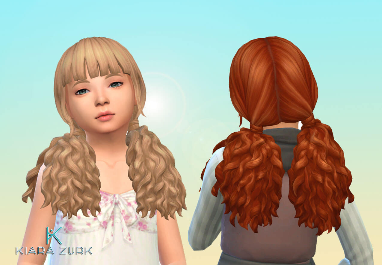 Brittany Hairstyle for Girls