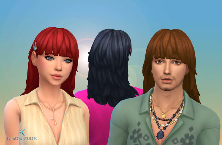 Amy and Lucas Hairstyle