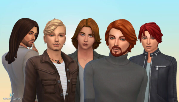 Male Hair Pack 10