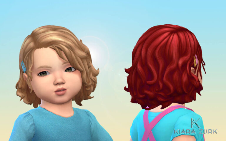 Peggy Hairstyle + Clips for Toddlers