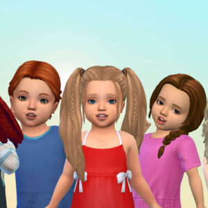 Toddlers Hair Pack 41