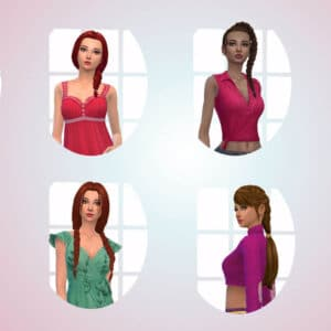 Female Braids Hair Pack