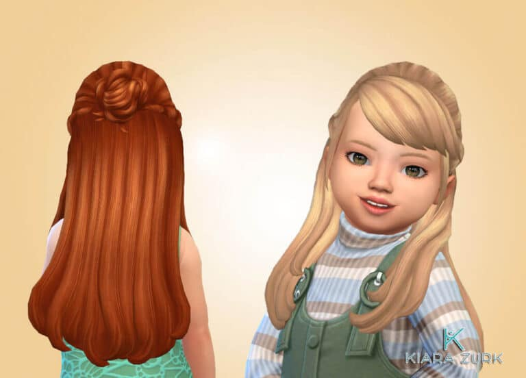 Marisol Hairstyle for Toddlers 💕