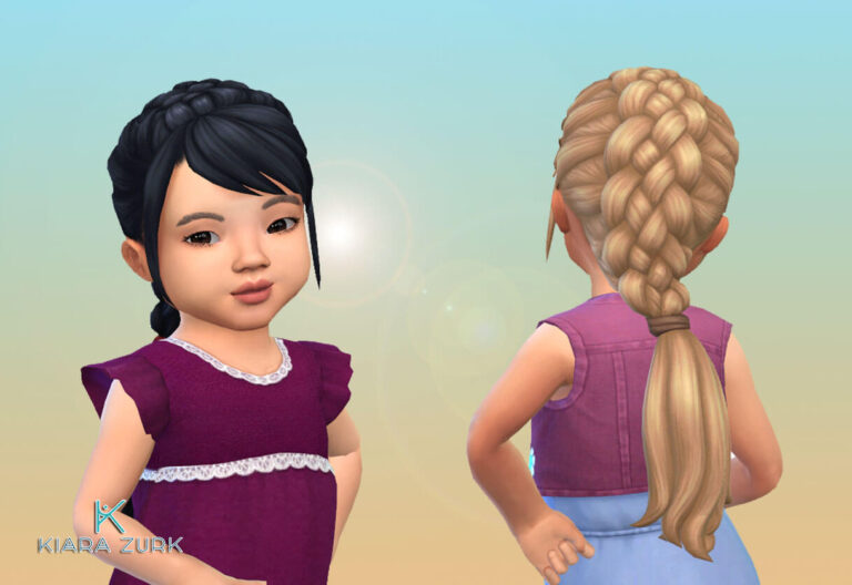 Royal Braid for Toddlers