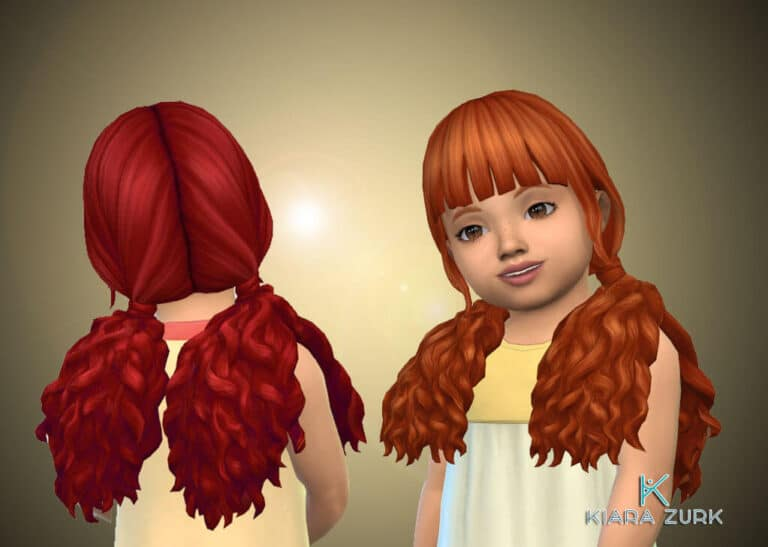 Brittany Hairstyle for Toddlers