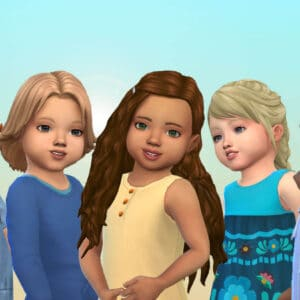 Toddlers Hair Pack 42