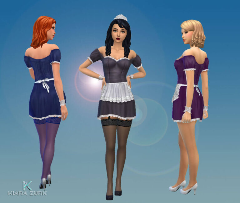 TS2 Maid Outfit
