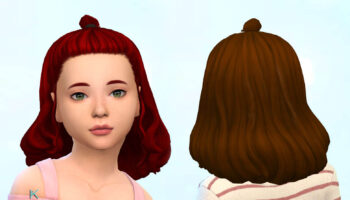 Agnes Hairstyle for Girls