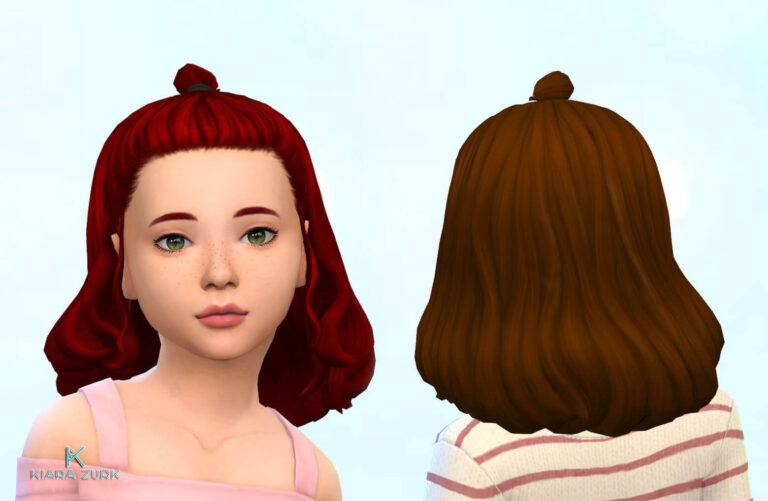 Agnes Hairstyle for Girls 💕